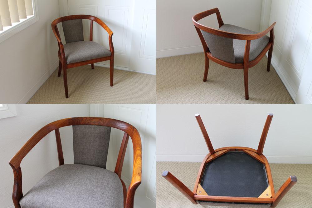 Retro Teak Parker Chair
