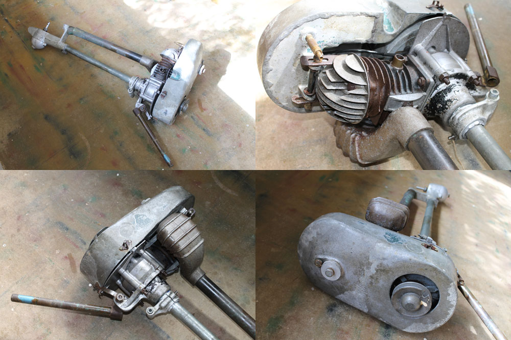 Early 1960's Victa powered Outboard motor