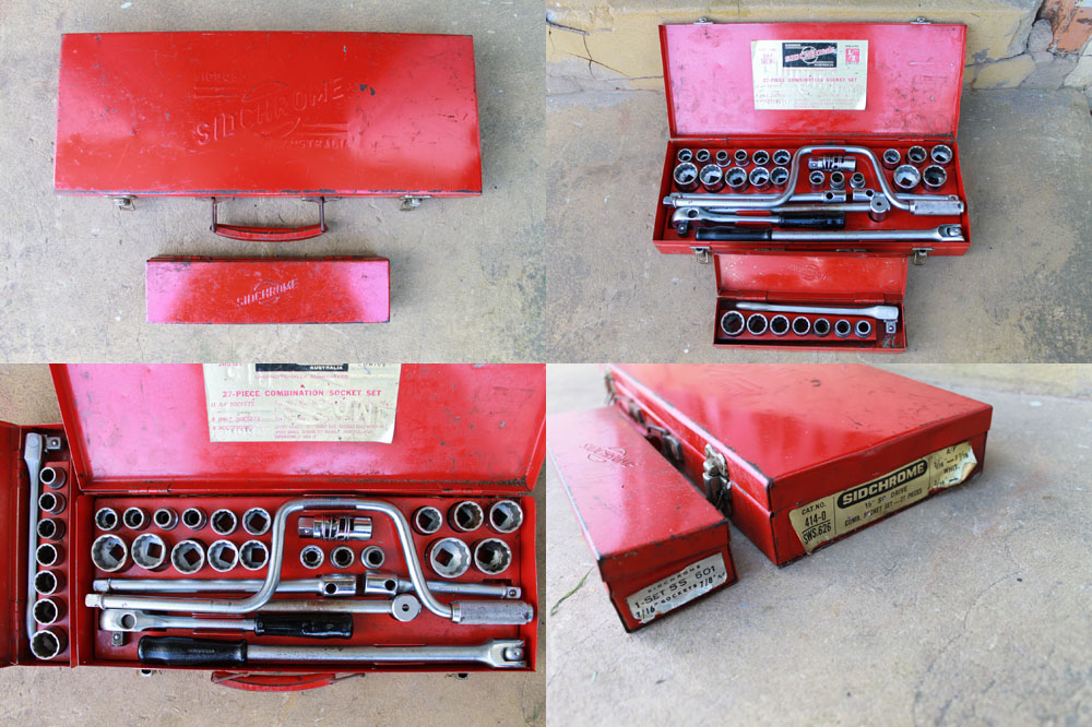 Australian made Sidchrome Socket Sets