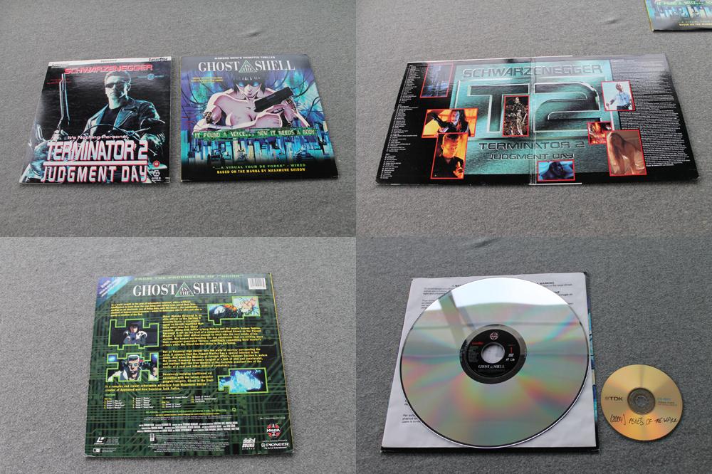 2 PAL Laser Discs