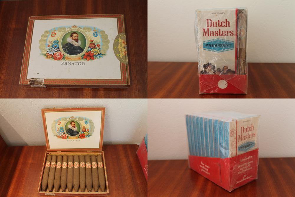 Unopened vintage cigars