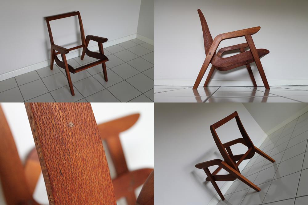 Silky Oak TV/Arm/easy chair