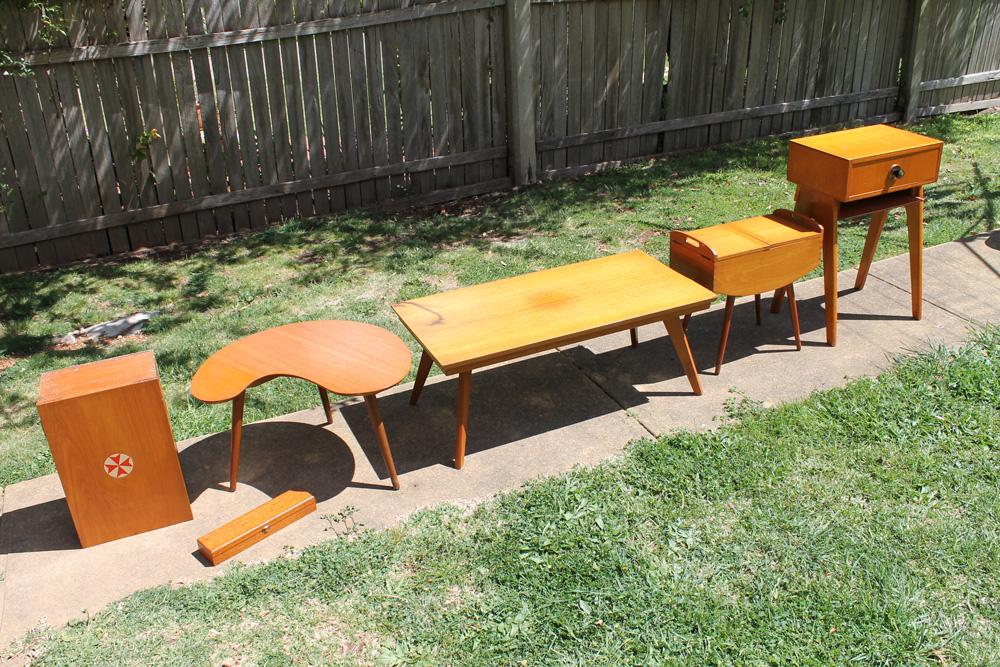 Mid Century Items for sale.