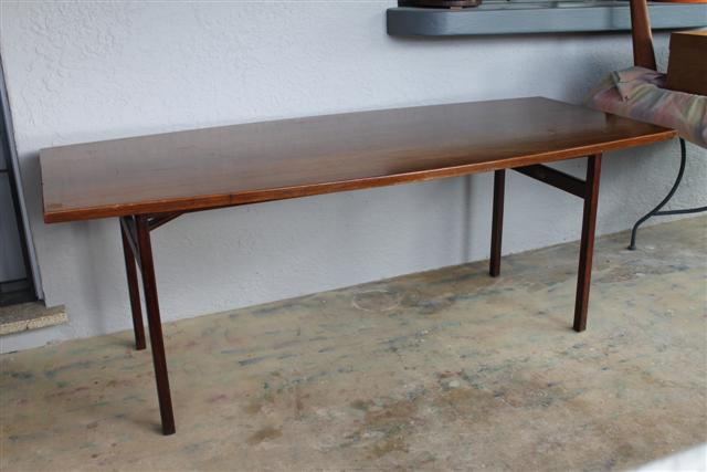 Mid Century Table Dining/Board Room