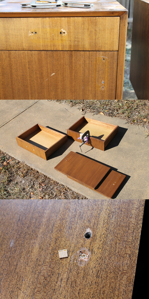 Mid Century Australian Bedside tables.