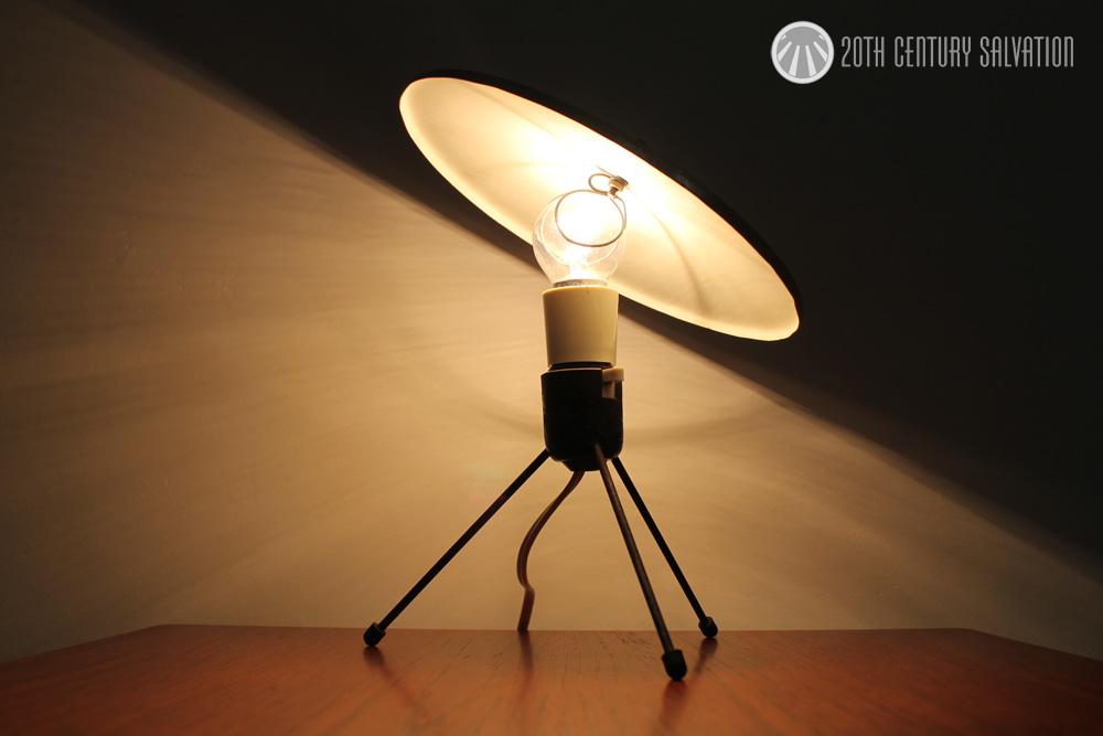 Australian TV lamp 1950's